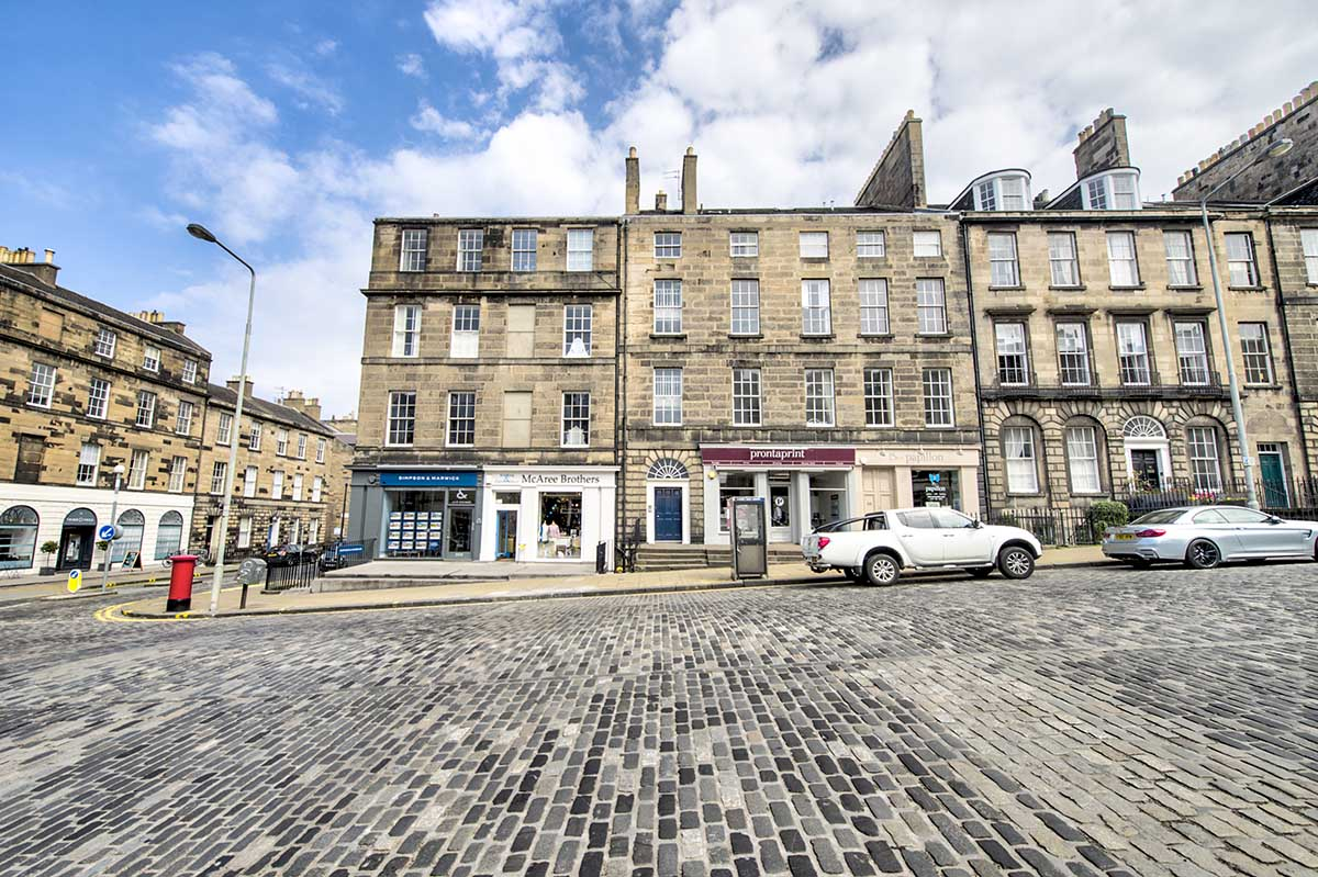 new town edinburgh airbnb photographer