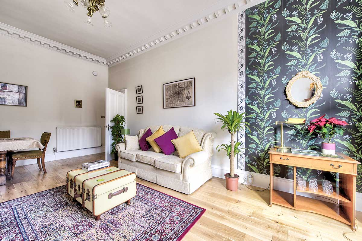 leith edinburgh airbnb property photography