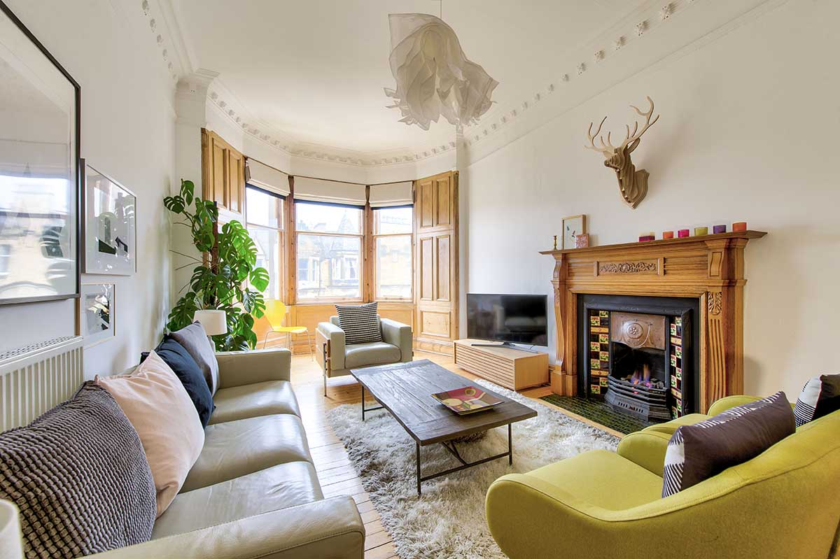 Marchmont Edinburgh Airbnb - BNB Media Property Photography