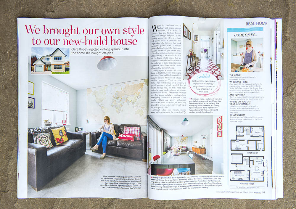 your home reader home magazine feature